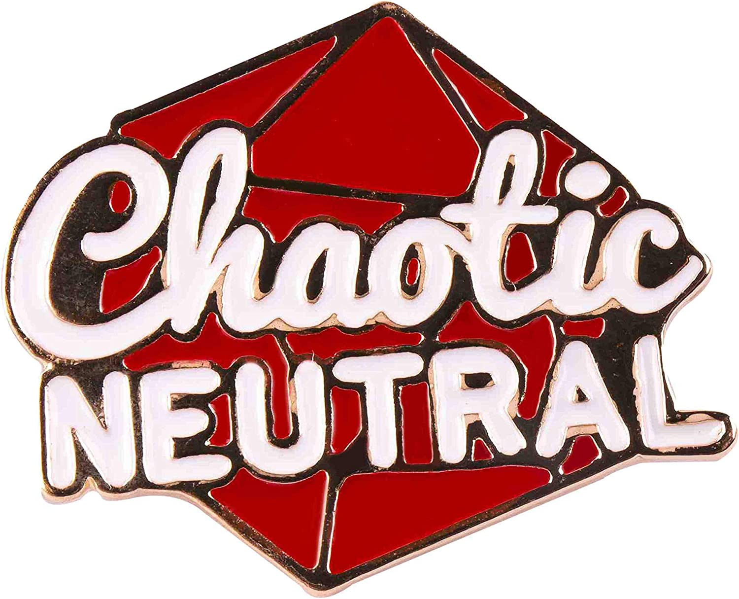 GSM Brands Chaotic Neutral Enamel Lapel Pin