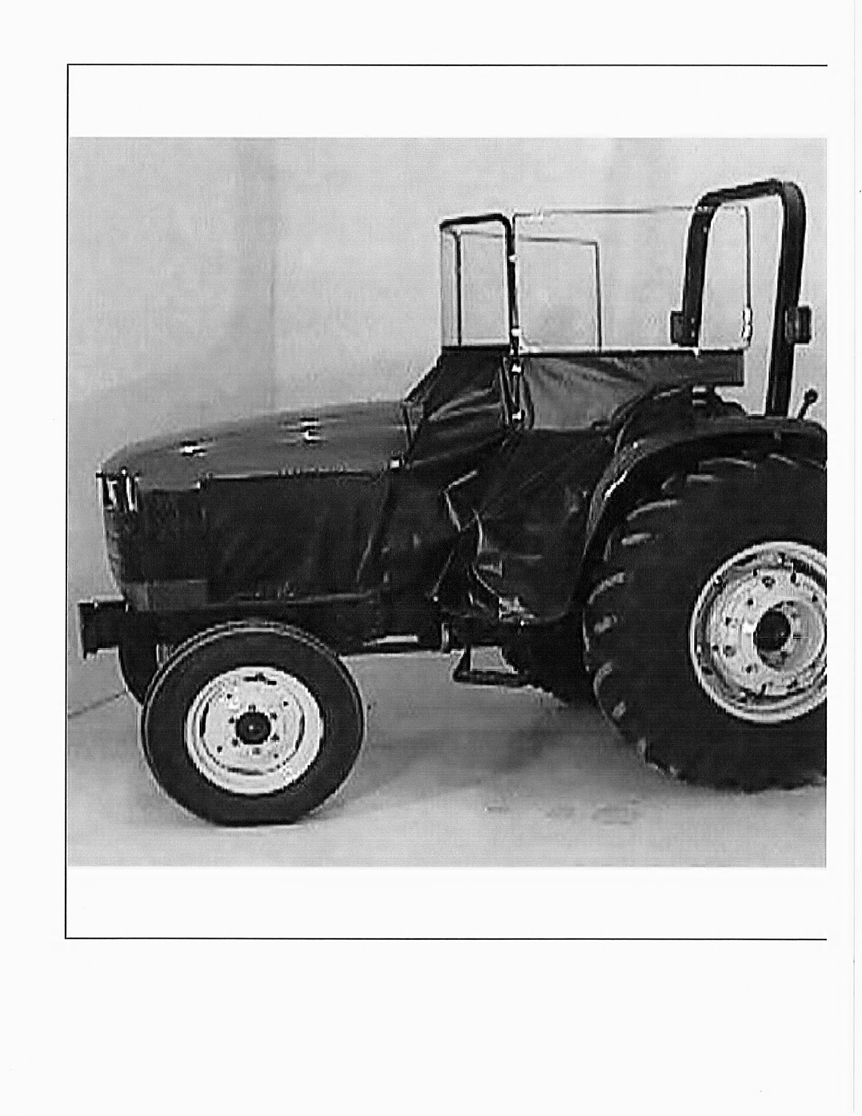 Tractor Heat Houser or Weather Brake Universal Small Tractor Side Entry