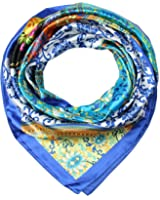 corciova Women's Satin Square Silk Feeling Hair Scarf 35 x 35 inches New Style