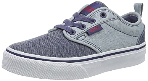 2af0c5bb4a Vans Boys  Yt Atwood Slip-on Low-Top Sneakers  Amazon.co.uk  Shoes ...