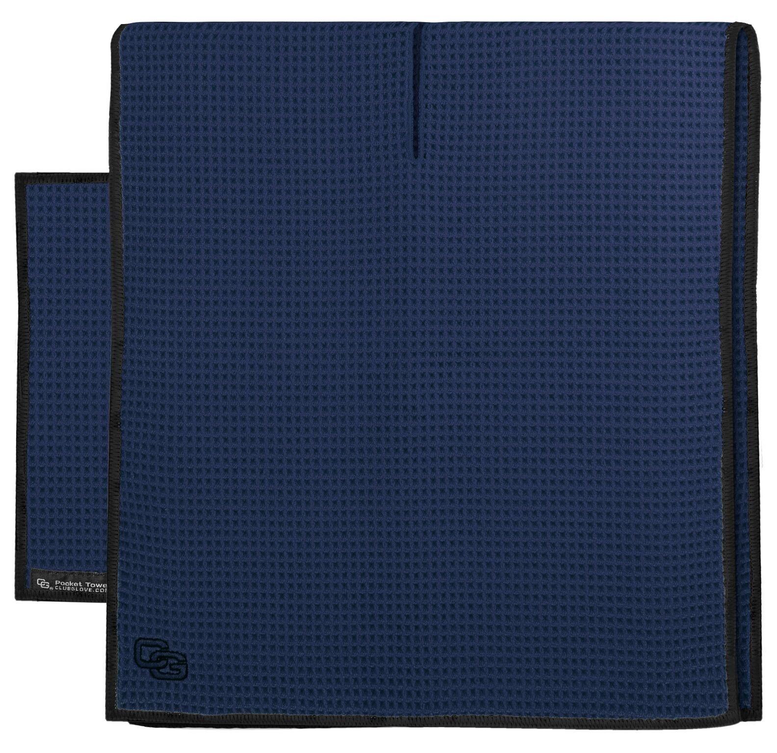 Club Glove Golf Microfiber Caddy and Pocket Towel Set (Navy)