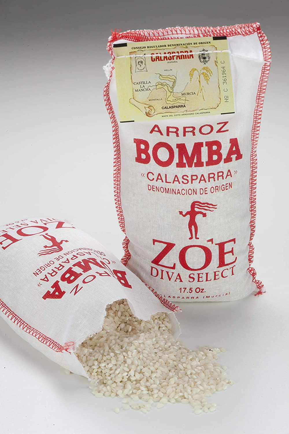 Zoe Diva Select Bomba Arroz: Amazon.com: Grocery & Gourmet Food