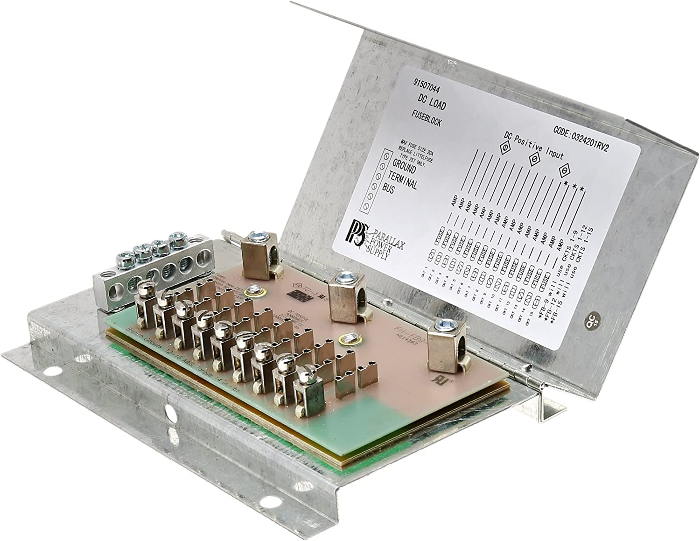 Parallax Power Supply/ FB12 Fuse Panel Box