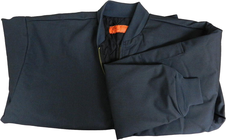 Solar 1 Clothing Lined Panel Work Wear Jacket Rib-Knit Colloar MJ38