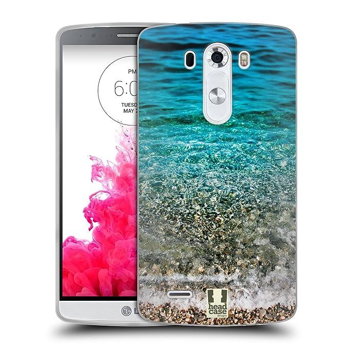 6 opinioni per Head Case Designs Onde Trasparenti Spiagge Meravigliose Cover in Morbido Gel
