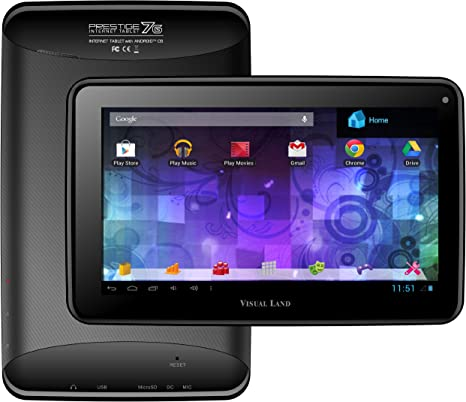 Amazon.com: Visual Land Prestige 7 G 8 GB con Google Play ...