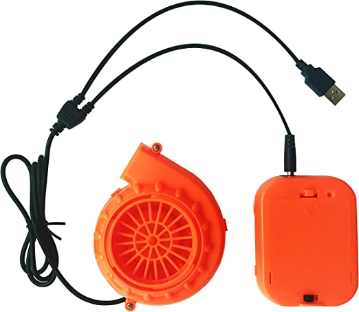 Amazon.com: Hinchable fans- Mini ventilador soplador para ...