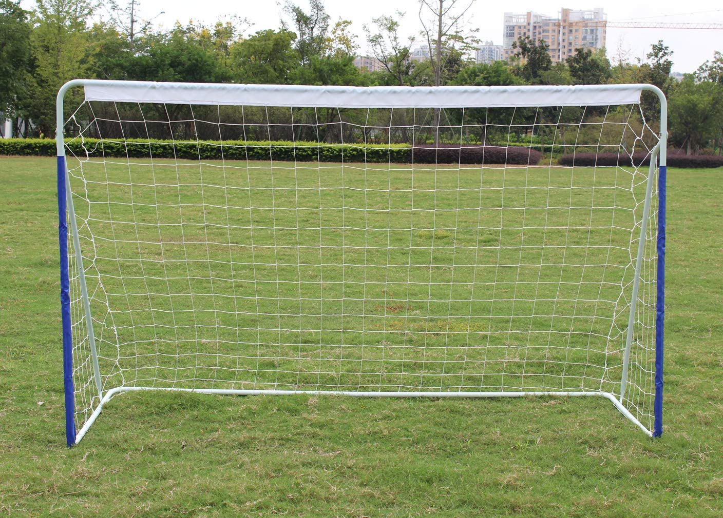 KLB Sport 8' x 5' Steel Soccer Goal - Portable Soccer Net with Carry Bag by KLB Sport (Image #2)