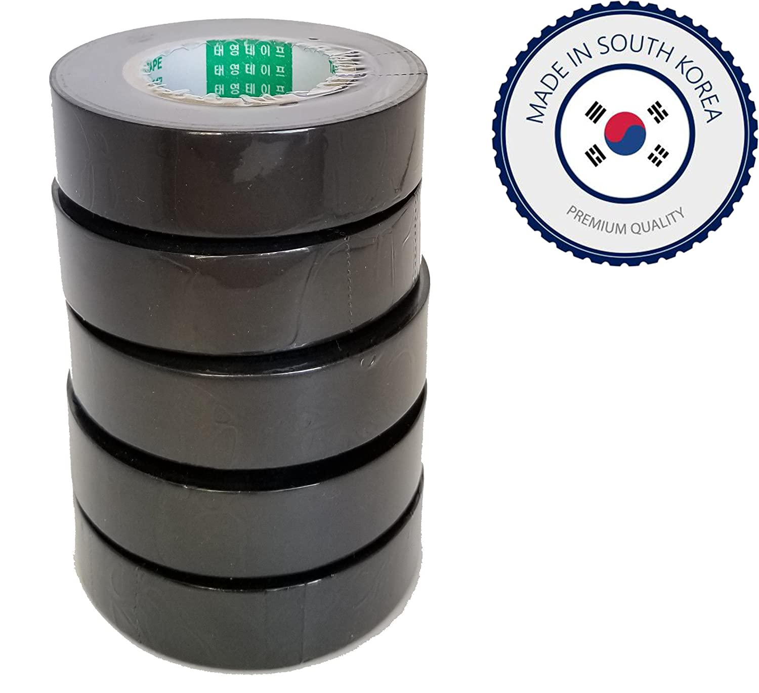 Taeyoung Gm Ford Part Pvc Tape 5 Rolls Of 3 4 X 82ft Automotive Wiring Loom Roll 19mm 25mwire Harness Adhesivepvcblack