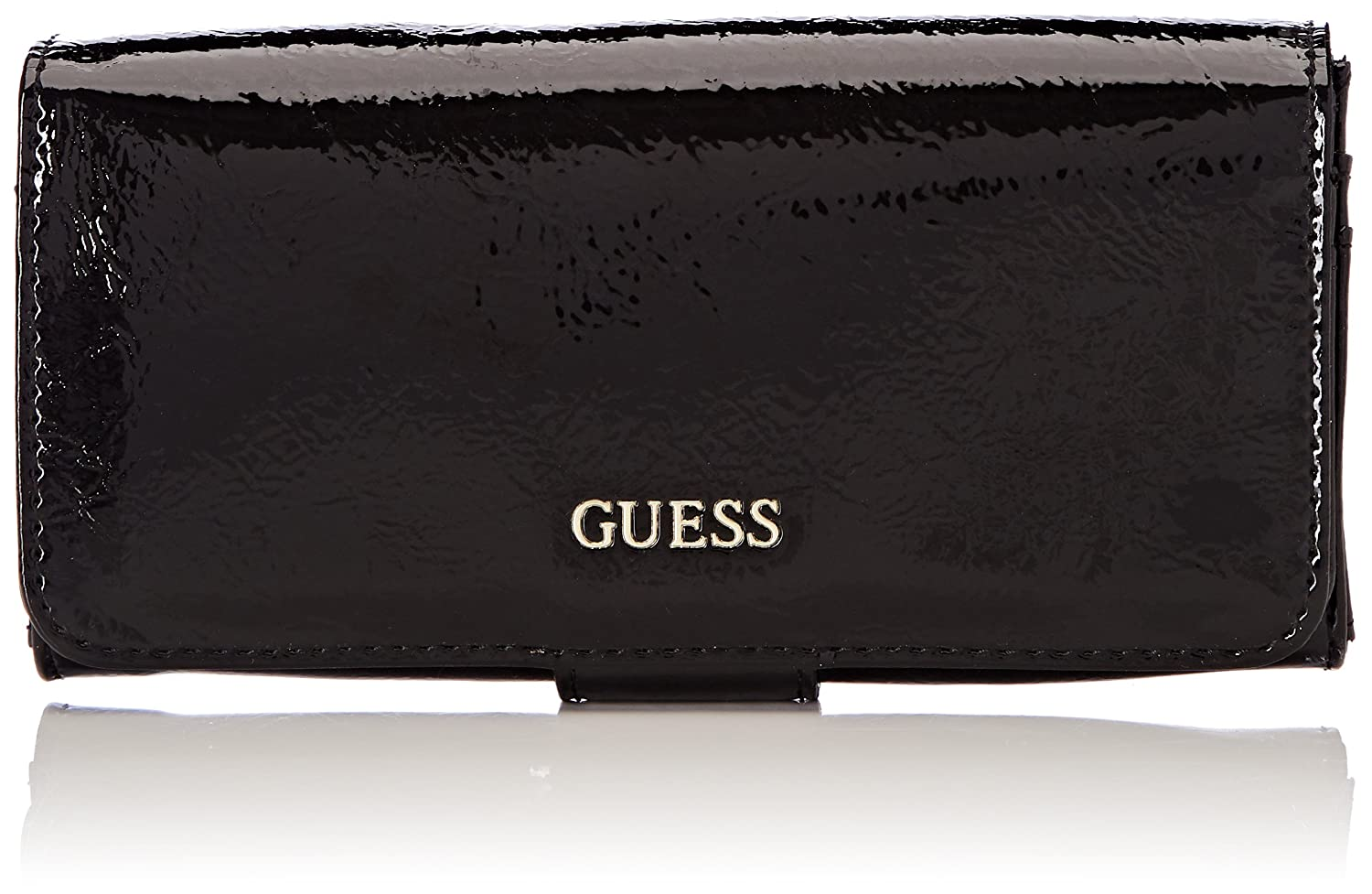 Guess - Slg Wallet, Carteras Mujer, Negro (Black), 2x10x20 cm (W x H L)