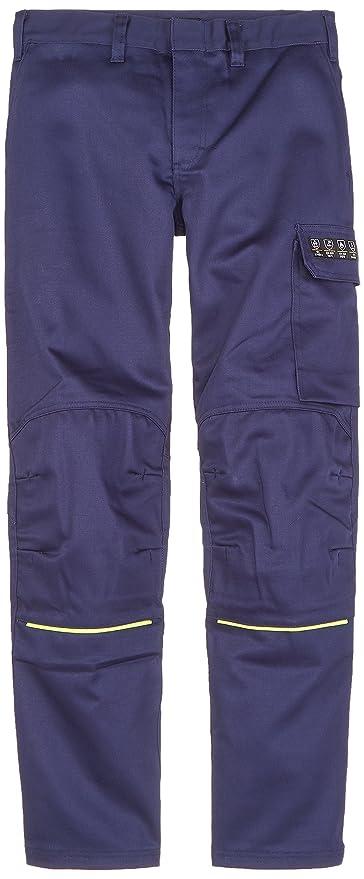 blakläder 170115018933 C46 soldar Pantalones Tamaño, color azul marino/amarillo, C46