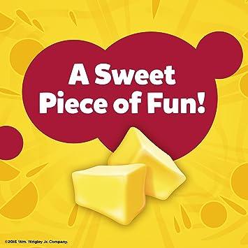 JUICY FRUIT Original Bubble Gum, 5 Piece Pack (18 Packs)