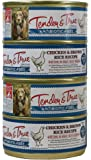 Tender & True 854028 antibiotic free chicken and brown rice 5.5 oz canned wet dog food, One Size