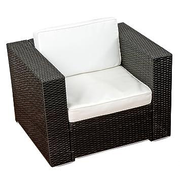 Xinro 1er Premium Lounge Sessel Lounge Sofa Gartenmobel Gunstig Loungesofa Polyrattan Xxl Rattan Sessel In Outdoor Handgeflochten Mit