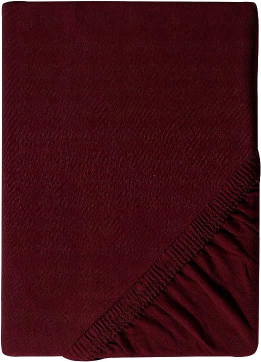 Sábana bajera ajustable de myHomery, de 190g/m², cobertor de ...