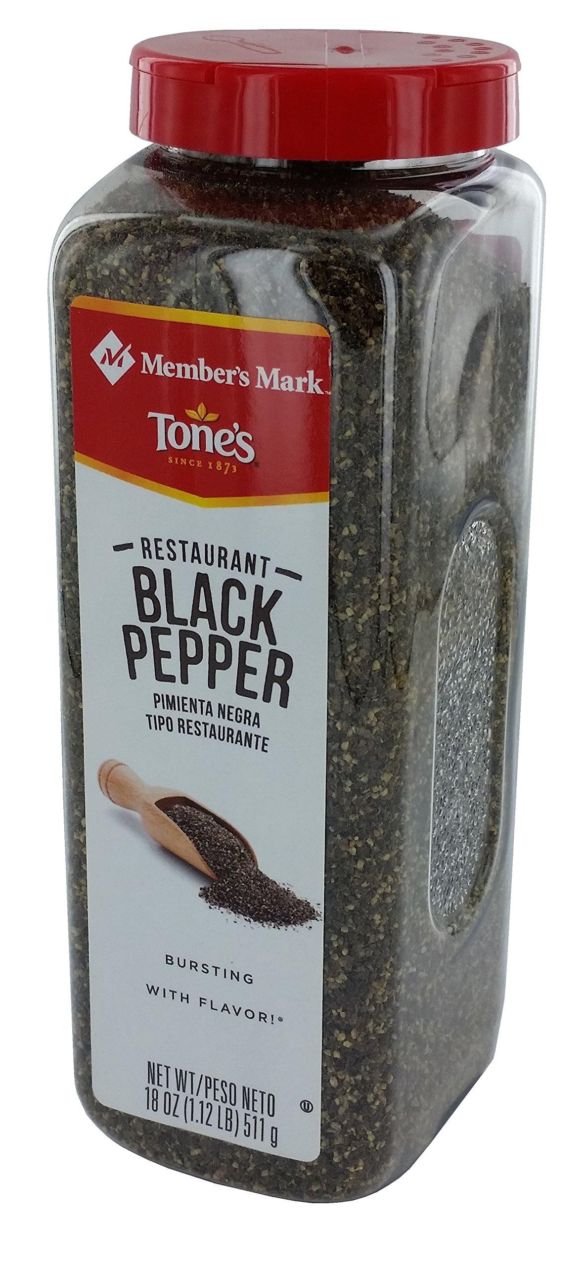 Member's Mark Restaurant Black Pepper by Tone's (18 Ounce)