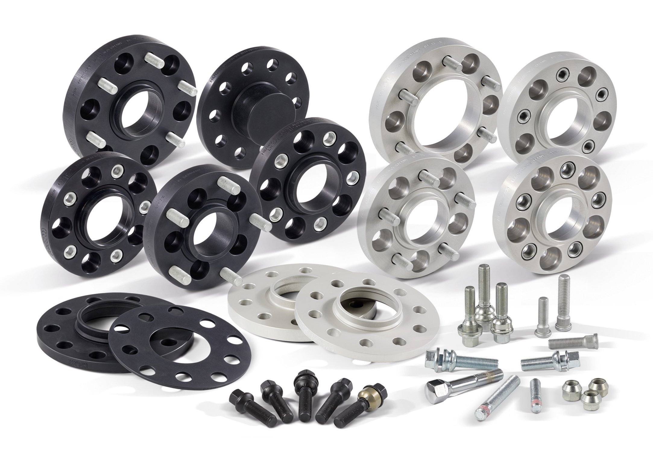 H&R 40795650 Hub Adapter Set