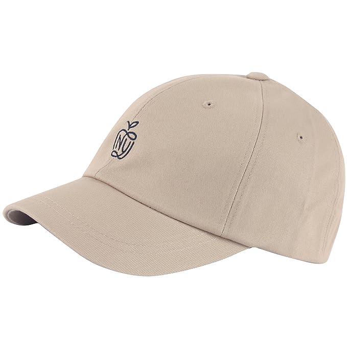 RaOn B400 Ball Cap NY Apple Logo Youth Style Short Bill Design Baseball Hat  Truckers ( bcb6405441d