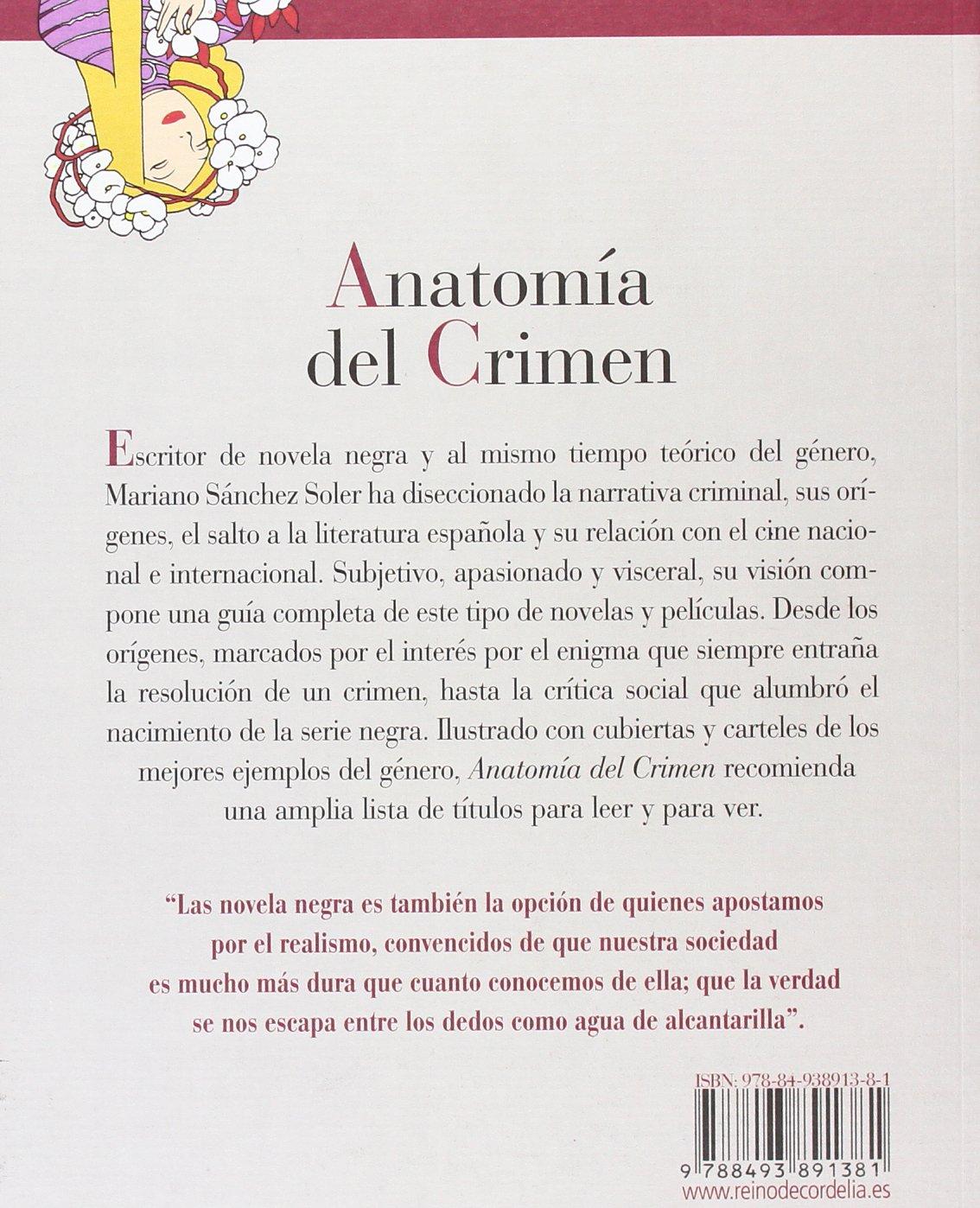 Anatomía del crimen: Guía de la novela y el cine negros REINO DE ...