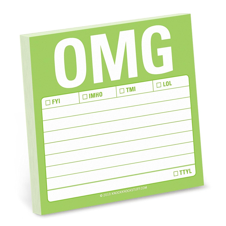 8er-Pack selbsthaftende Notizzettel 1 Stück OMG B07DNSM241 | Klein und fein  | Bekannt für seine schöne Qualität  | Maßstab ist der Grundstein, Qualität ist Säulenbalken, Preis ist Leiter