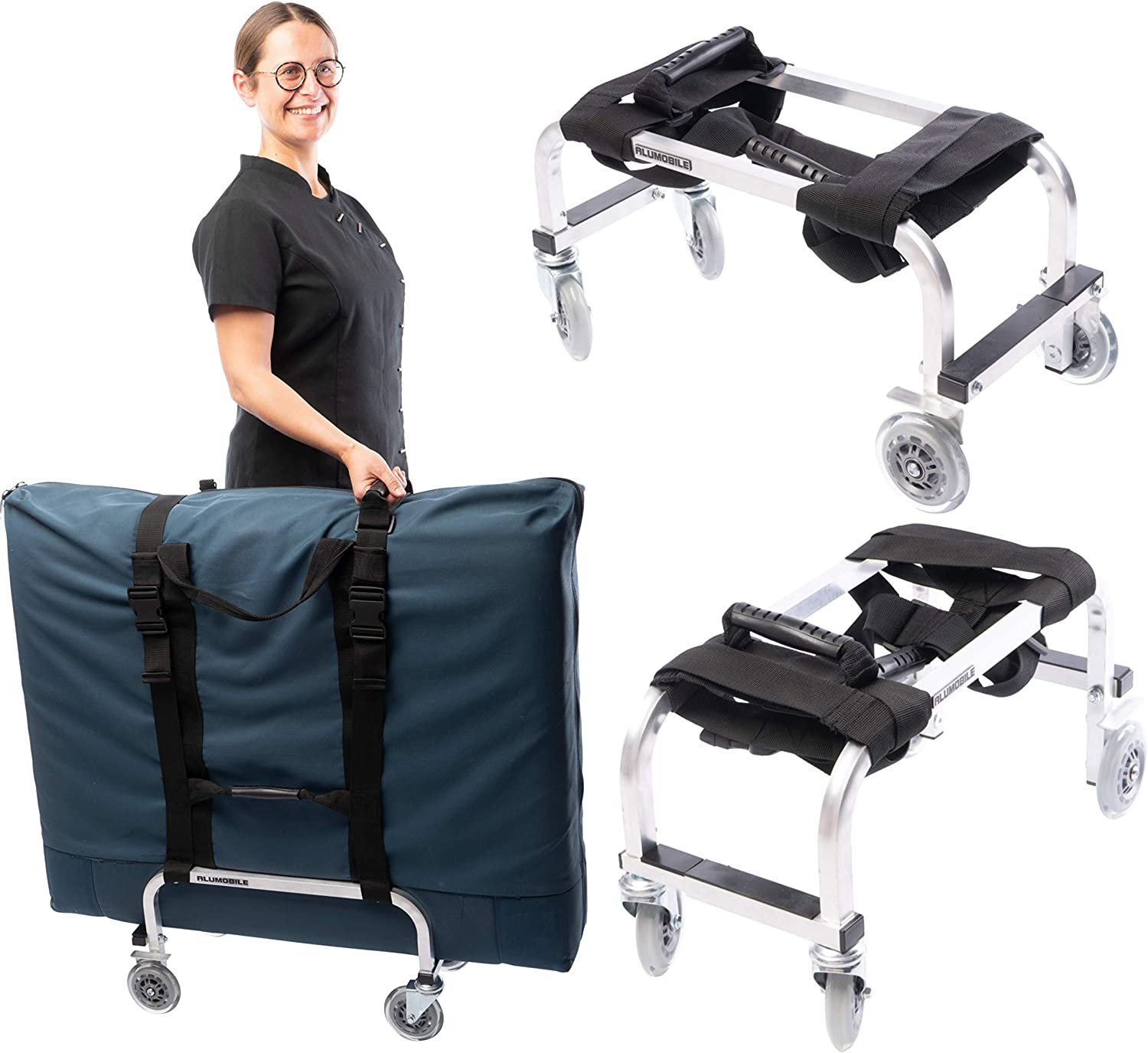 Massage Table Cart Trolley for Professio…