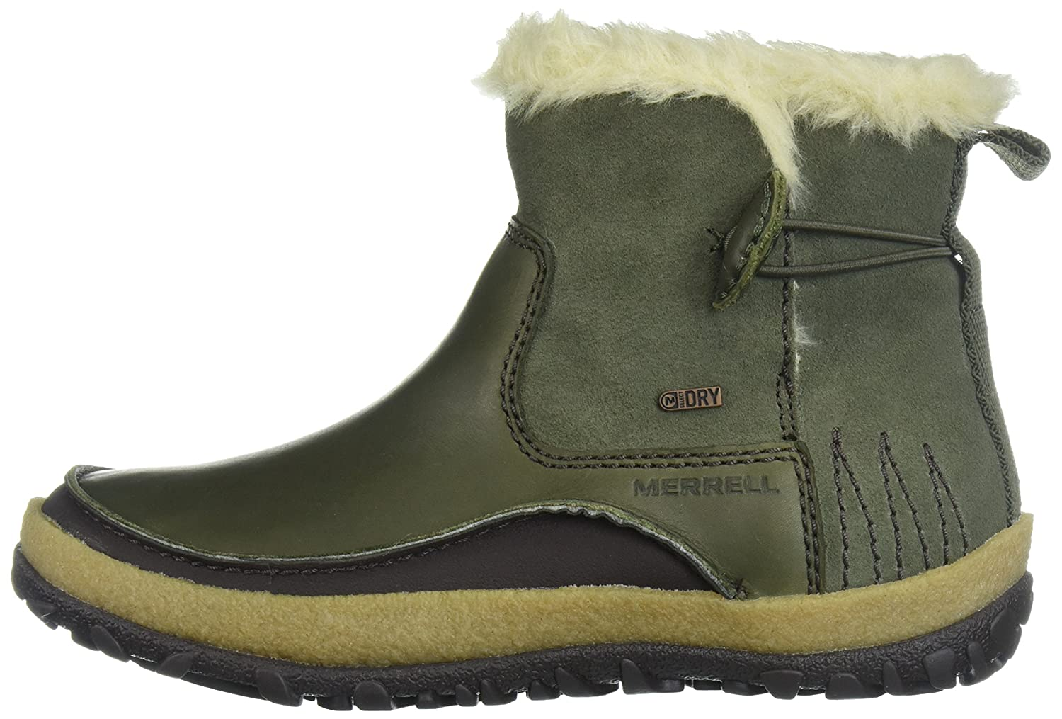 Merrell Women's Tremblant Pull on Polar Waterproof Snow Boot B01MZ08O2H 9.5 B(M) US|Dusty Olive