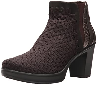 STEVEN by Steve Madden Women's NC-Excit Ankle Boot, Brown Multi, ...