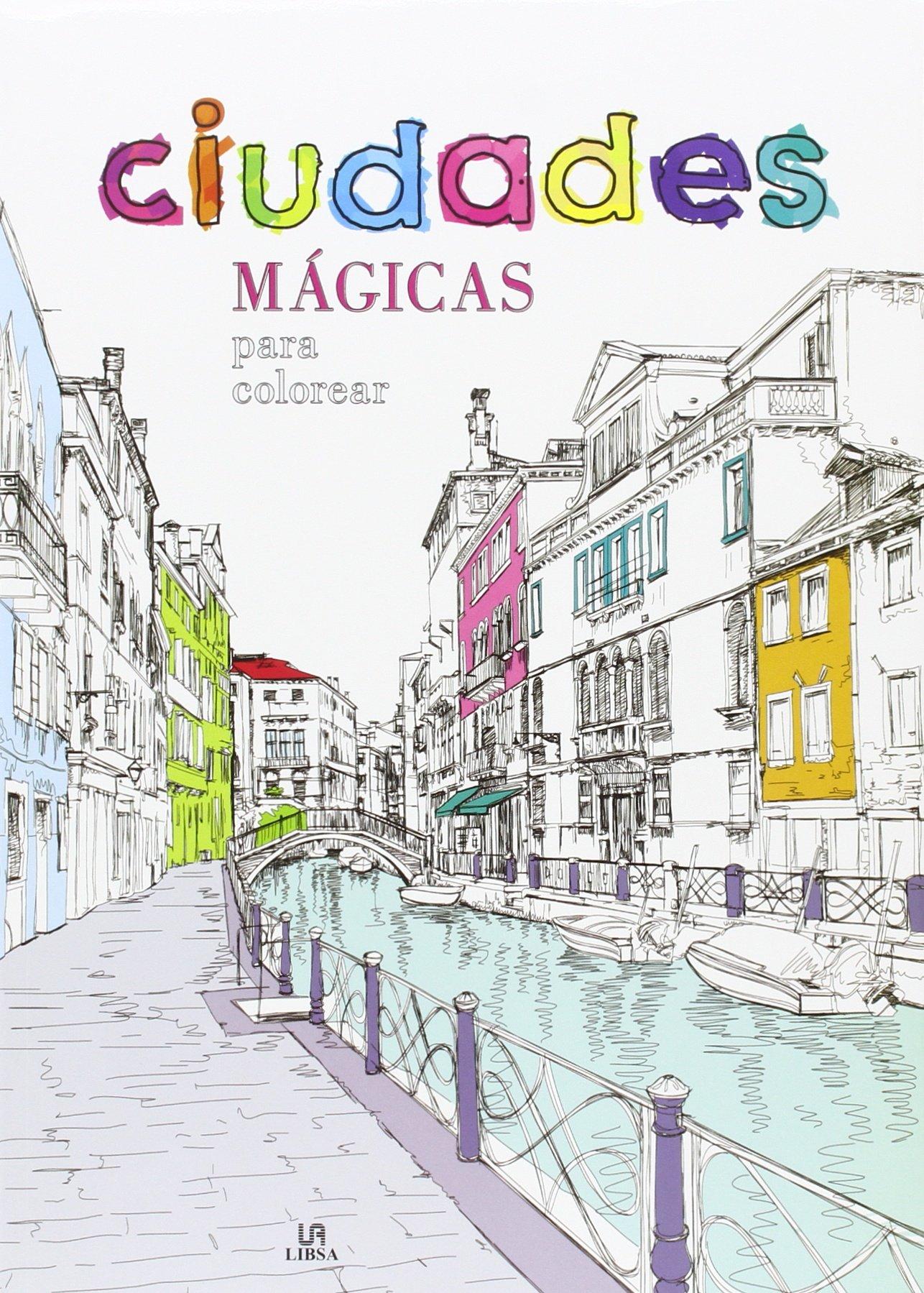 Ciudades mágicas para colorear (Coloreables Mágicos): Amazon.es: Aa ...