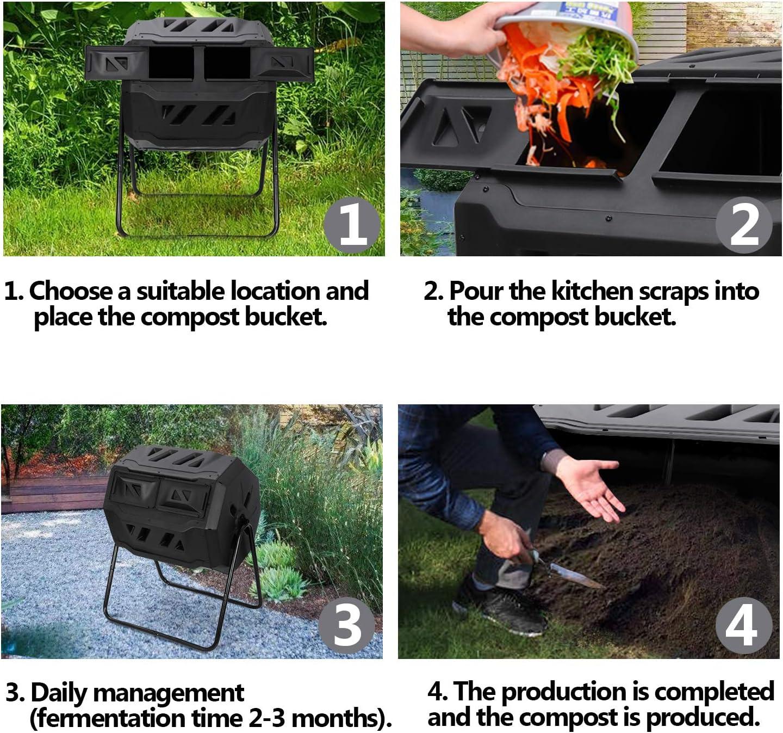 compost New composter 4/x vassoi impilabili Deluxe Wormery kit verme dolcetti