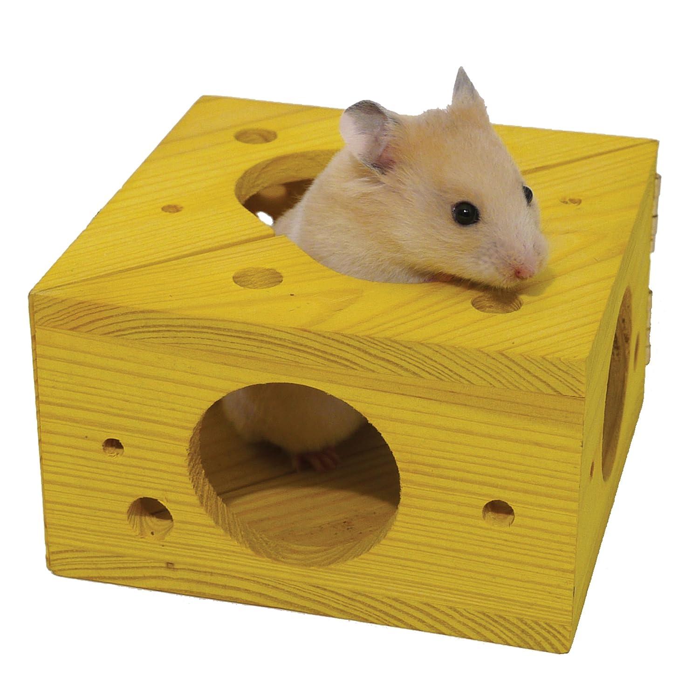 Amazon Sleep n Play Cheese Hamster & Small Animal Toy