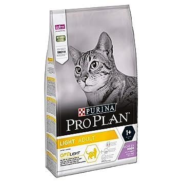 e1cbbfeaebb8 PRO PLAN Light Dry Cat Food Turkey and Rice 3kg: Amazon.co.uk: Pet ...