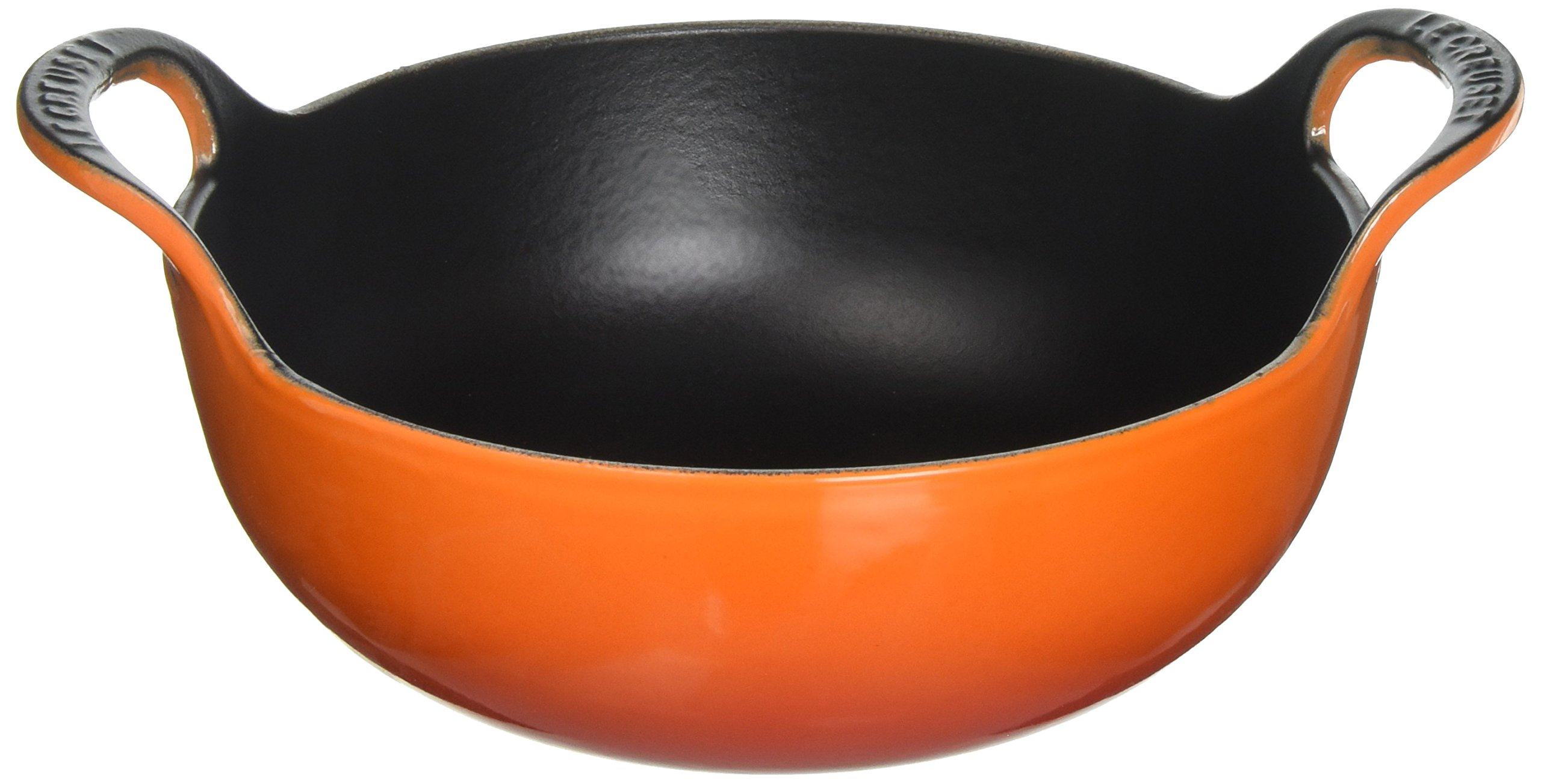 Le Creuset of America Enameled Cast Iron Balti Dish, 2-Quart, Flame
