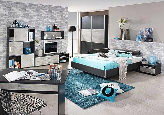 lifestyle4living Jugendzimmer, komplett, Set, Jungen, Mächen ...