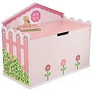 KidKraft Girl's Dollhouse Toy Box