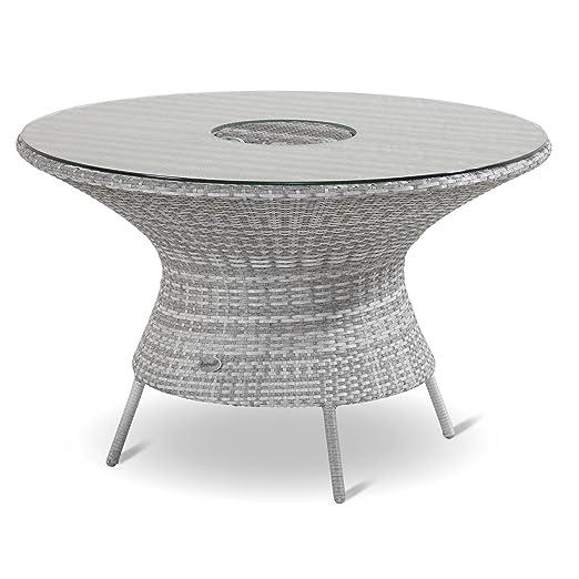 Hartman Montego Dining mesa redonda 120 cm Hielo enfriador Royal ...