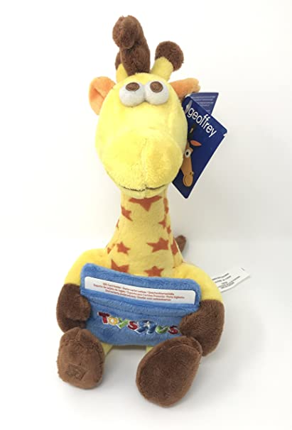 Amazon Com Toys R Us Geoffrey Giraffe Mascot Plush With Gift Card