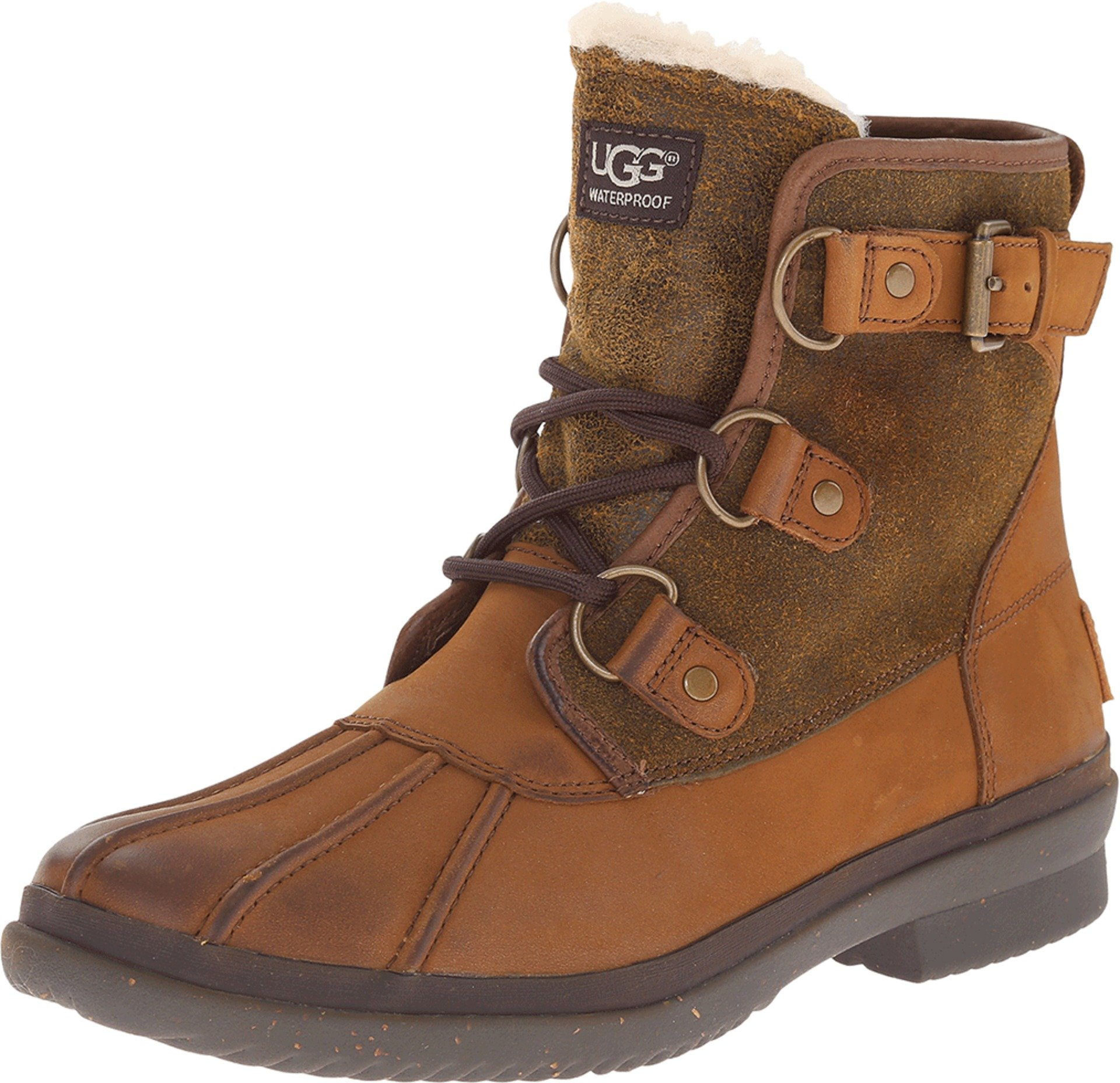 UGG Women's Cecile Winter Boot, Chestnut, 8 B US
