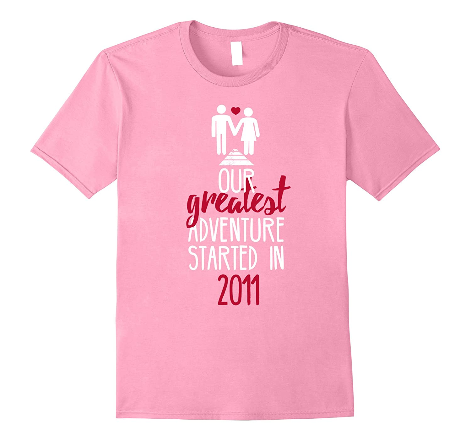 6th Wedding Anniversary T-Shirt Funny For Married In 2011 J-ANZ ...