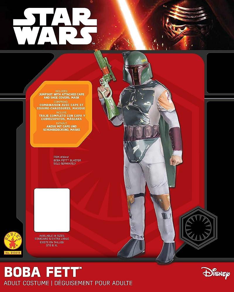 Rubies Costume Co Mens Star Wars Classic Boba Fett Costume