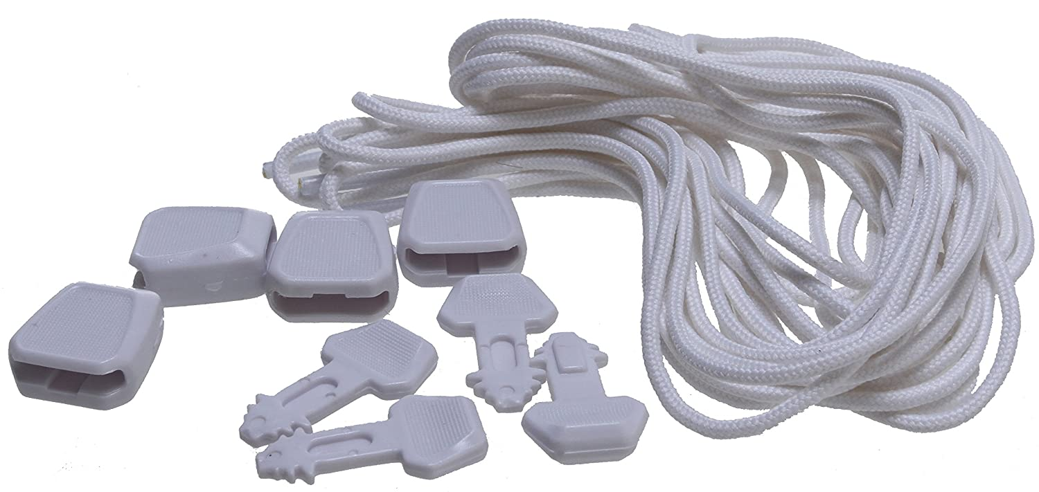 Ronix Lace Lock Kit White by Ronix