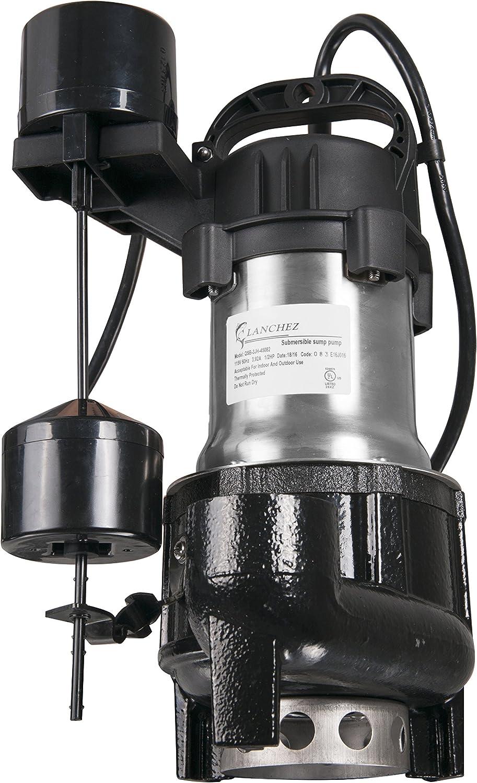 1 HP SUMP//EFFLUENT Superior Pump 92151