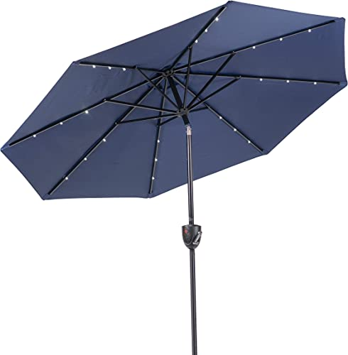 Sun-Ray 811042 Solar Patio Umbrella