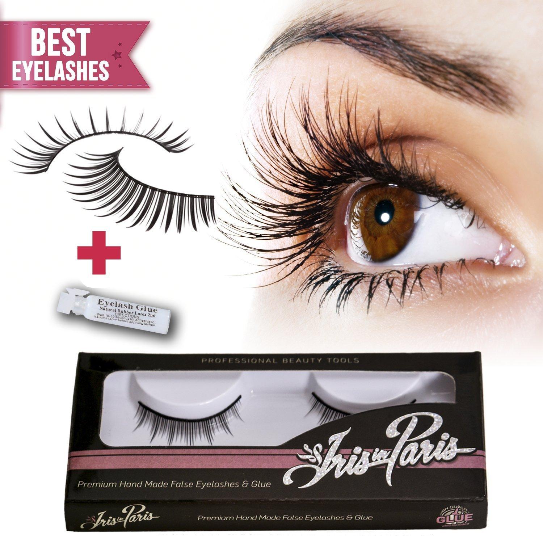 How to glue eyelashes 56