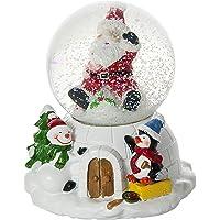 Mousehouse Gifts Globo de Nieve navideña con música