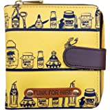 Funk For Hire Yellow Women's Wallet