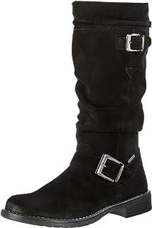 Lurchi Lia-Tex, Botas para Niñas, Negro (Black 21), 40 EU