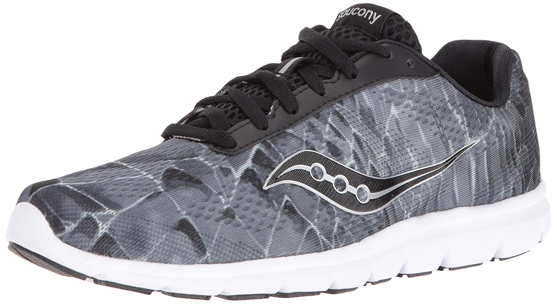 Saucony Women's Grid Ideal Running Shoe B01GJZLS8M 7.5 B(M) US|Black/Grey/Pr