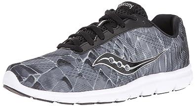 2d2315fe6e7f Saucony Women s Grid Ideal Running Shoe Black Grey Pr 5 ...