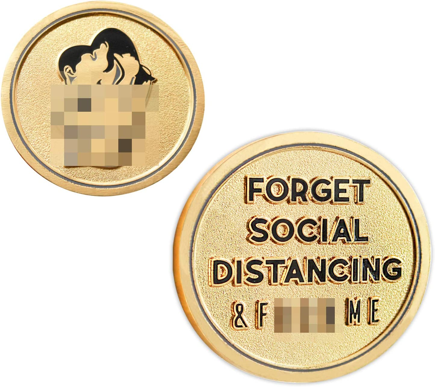 The Original F-ME Token | Funny Gift for Boyfriend Girlfriend Husband Wife and All Men and Women | Naughty Gift for Him or Her