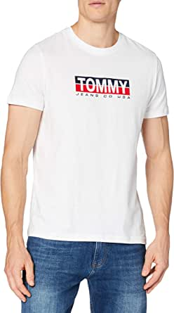 Tommy Hilfiger TJM Tommy Contrast Box tee Camisa para Hombre